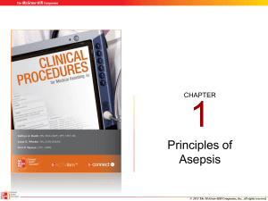 Principles of Asepsis - McGraw Hill Higher Education