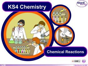 Chemical Reactions - We can`t sign you in