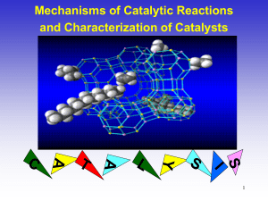 Catalysis and Catalyst