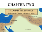 maps for the journey