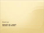 """What is Law?"" Power Point"