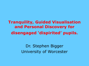 tranquillity - Worcester Research and Publications