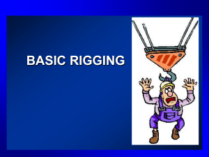 BASIC RIGGING