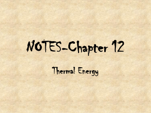 NOTES-Chapter 12