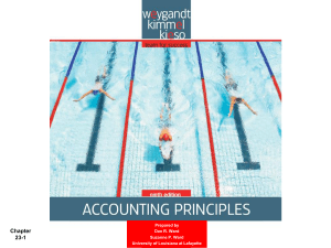 Accounting Principles 8th Edition
