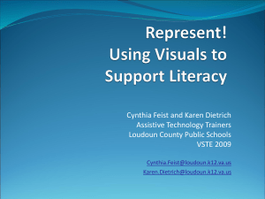 Represent! Using Visuals to Support Literacy