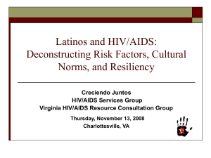 Latinos/as and HIV/AIDS