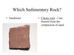 Which Sedimentary Rock?