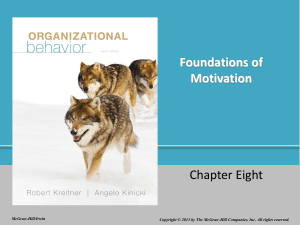Motivation - McGraw Hill Higher Education