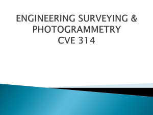 Engineering Surveying and Photogrametry