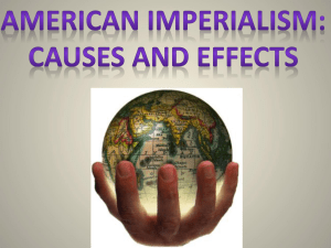 What was imperialism?