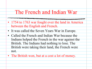 PowerPoint Presentation - American Revolution Review
