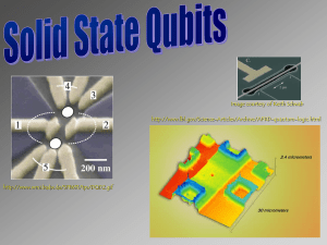 superconducting qubits solid state qubits