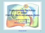Understanding Psychology by Morris and Maisto