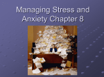 Managing Stress and Anxiety Chapter 8
