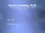 Kevin Leehey M.D. Child, Adolescent, and Adult Psychiatry Board