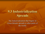 Ch 9.3 _The Industrial Revolution Spreads PPT File