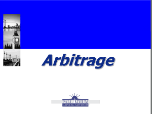 What is Arbitrage? - Palladium Capital Advisors