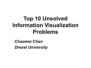 Top 10 Unsolved Information Visualization Problems