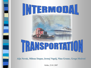 Intermodal Transportation Network