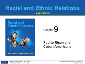 Racial and Ethnic Relations NINTH EDITION