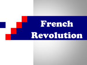 French Revolution - Beavercreek City Schools