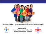 CHILD SAFETY- A New Public Health Problem!!!