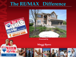 The RE/MAX Difference –