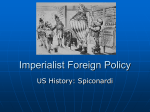 Imperialist Foreign Policy - White Plains Public Schools