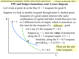 Factor Price Equalization and Stolper
