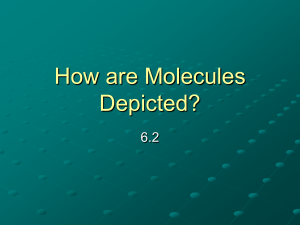 How are Molecules Depicted? - Belle Vernon Area School District