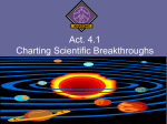 Act. 4.1 Charting Scientific Breakthroughs