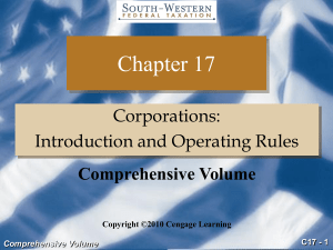 C17 - 1 Comprehensive Volume