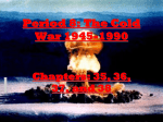 Period 8 Cold War