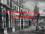 Rationalism Period (1750-1800)