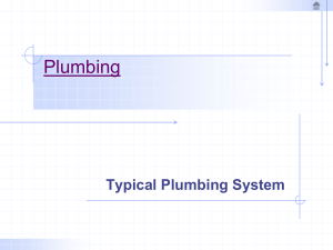 Typical Plumbing Systems