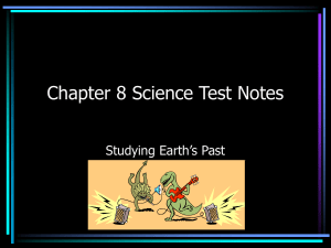 Chapter 8 Science Test Notes