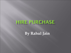 hirepurchase - Learning Financial Management / FrontPage