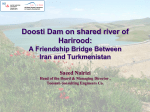 Water resources development a path to IRAN