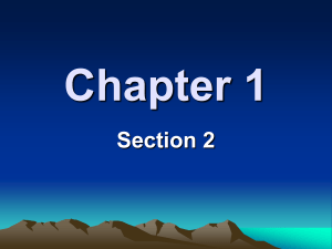 Chapter 1 - Humble ISD