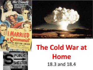 The Cold War at Home (2)