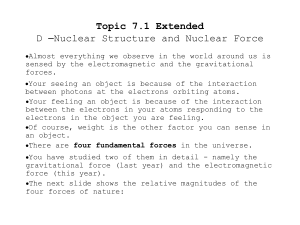 Topic 7_1_Ext D__Nuclear structure and force