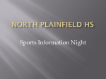 Sports Information Night Power point