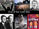 End of the Cold War - Scott County Schools