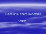 Types of business ownership - Somerset Independent Schools
