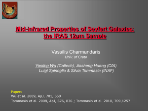 Mid-infrared Properties of Seyfert Galaxies: the IRAS 12um Sample