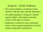 Antigone: Greek Audience