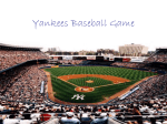 Yankees Baseball Game - Westbrooks-Wiki