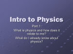 Intro to Physics - hrsbstaff.ednet.ns.ca