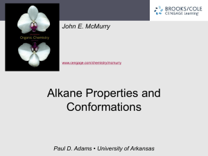 3. Organic Compounds: Alkanes and